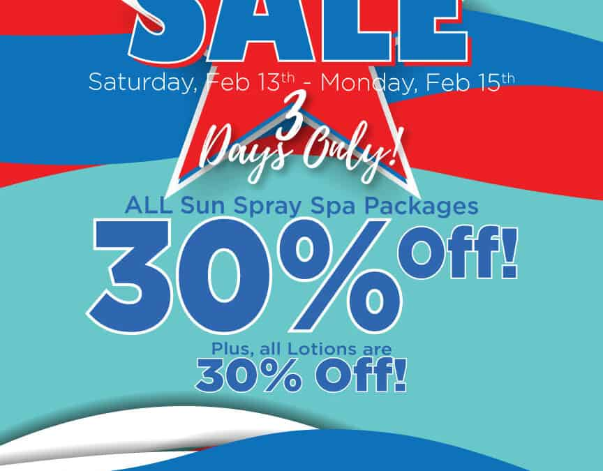President's Day Sale -Save 30%